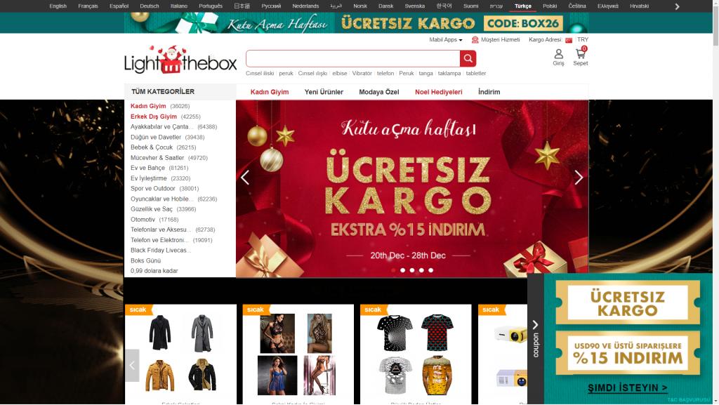 yurtdışı alışveriş siteleri