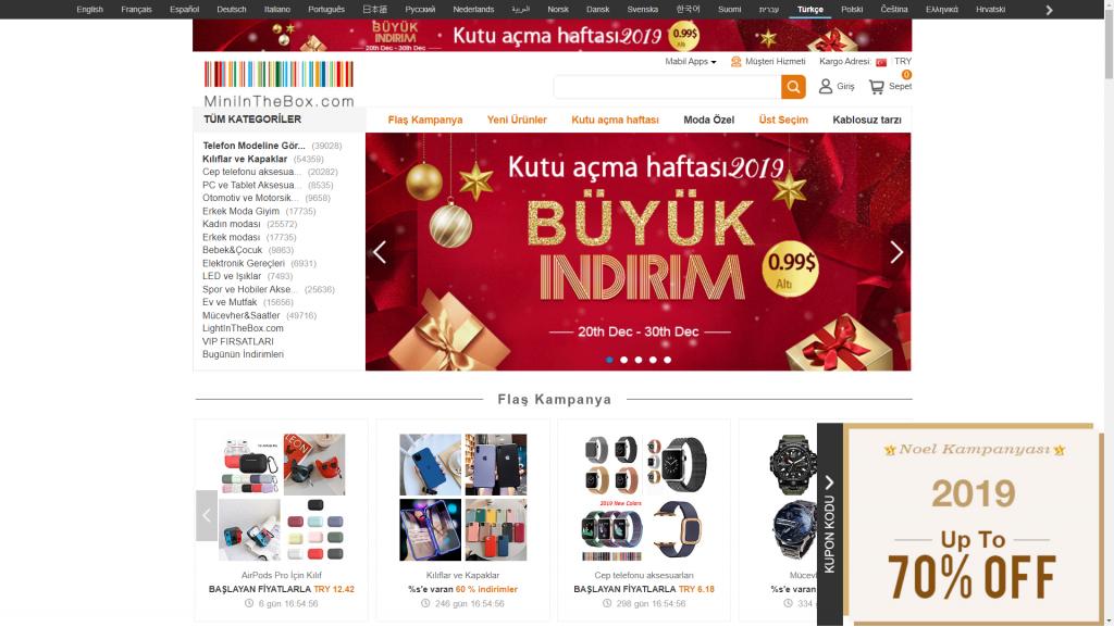 yurtdışı alışveriş sitesi